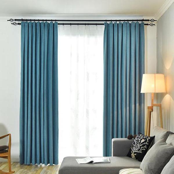遮光布艺窗帘