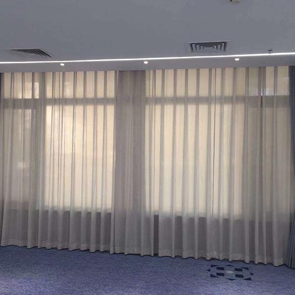 双层布艺窗帘
